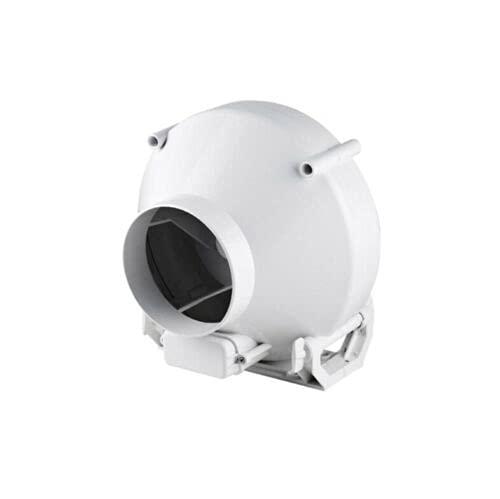 Inline-Zentrifugalventilator, 100 mm, industrieller Abluftventilator mit Montagehalterung