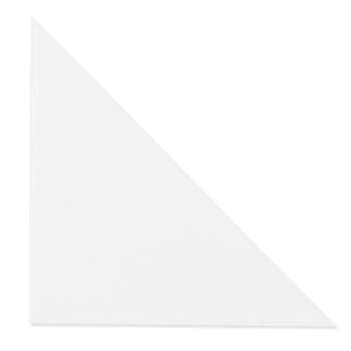 Dreiecktaschen Klarsichttaschen 100 Stück - selbstklebend transparent 200x200mm