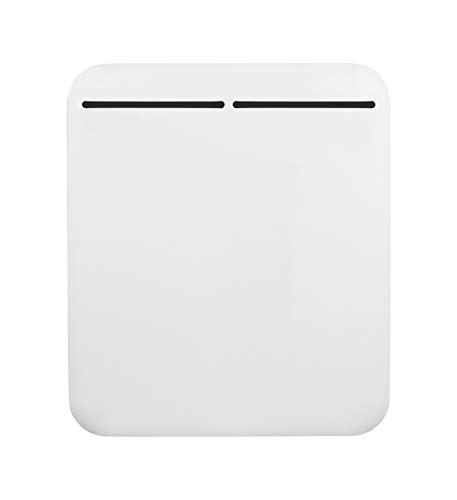 MYLEK Electric Panel Heater - Wall Mounted or Free Standing - Eco Energy Efficient, Open Window Detection, LED Digital Display, Adjustable Thermostat, 7 Day Timer, Anti Frost Function, Bathroom IP24, ERP Lot20 (500W LED PANEL HEATER)