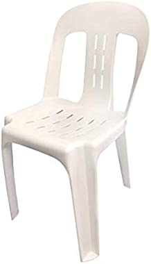 Buy CafePro Plastic Chair White Pipee with Durable Polypropylene Construction at Discounted Prices. Polypropylene Maximum Loa