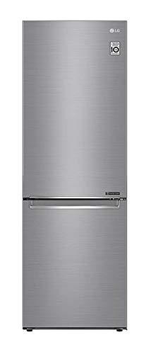 LG GBB71PZEFN nevera y congelador Independiente Acero inoxidable 341 L A+++ - Frigorífico (341 L, SN-T, 14 kg/24h, A+++, Compartimiento de zona fresca, Acero inoxidable)
