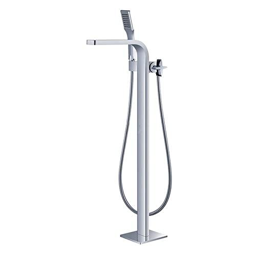 Freistehende Badewannenarmaturen Badezimmer-Mischbatterie Badewannenarmatur Chrom-Badearmatur mit Dusche Wasserfall Doppelfunktion Badewanne Dusche Mischbatterien Außenküche