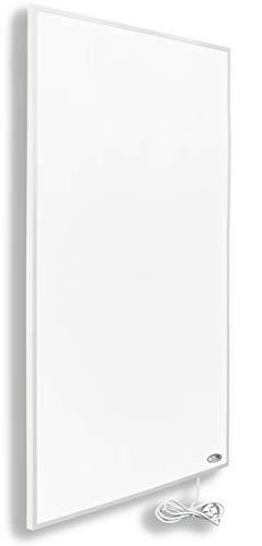 InfrarotPro Infrarotheizung 300-1400 Watt ✓15 Jahre Garantie ✓ Deutscher Hersteller ✓ geprüftes Produkt (800W), Weiß