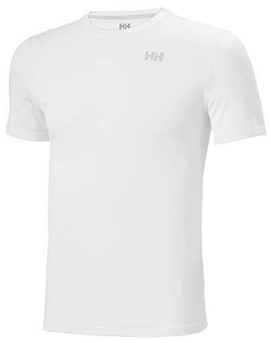 Helly Hansen HH LIFA Active Solen T-Shirt Camiseta Técnica De Protección Solar Manga Corta, Hombre, White, M