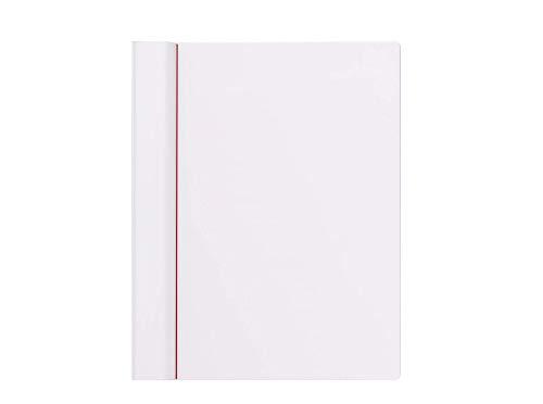 MAUL Klemmbrett DIN A4 Quer, Bruchsichere Zeichenplatte, Nass abwischbar, Weiß, 245x308x15 mm, 2310202, 1 Stück