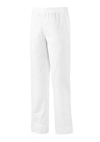 BP 1645-400-21-XLl Unisex-Hose, mit Gummizug in der Taille, 215,00 g/m² Stoffmischung, weiß, XLl