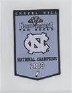 2009 National Champions (Basketball Card) 2010-11 UD North Carolina Basketball - Championship Banner Patches #NoN