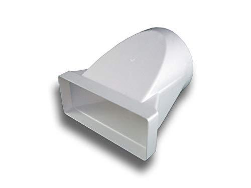 Übergangsstück Adapter PVC flach/eckig > rund System 150 auf Ø 150