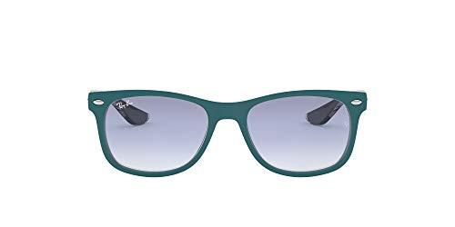Ray-Ban Unisex-Kinder Sonnenbrille 9052S,Blau / Grau / Hellblau, 48 (12-15 years)