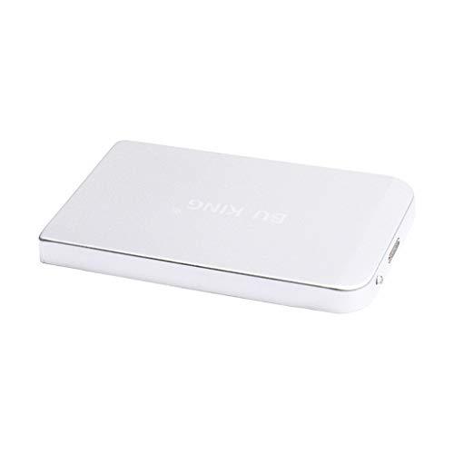 "#N/A/a 250GB 2.5""USB 3.0 Disco Duro Externo HDD SSD Gabinete Laptop Escritorio Plata"