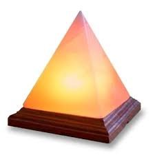 Lampada di sale dell Himalaya Magic Salt Lighting for Your Soul – (Piramide)