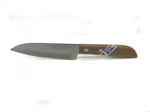 [ #503 ] KIWI Thailand Obstmesser mit Holzgriff 19cm / Messer