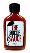 Suicide Sauces - The Suicide Sauce - Carolina Reaper Hot Sauce bekannt durch Kabel 1