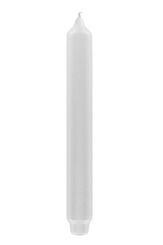 Fink Candle/Stabkerze,weiß,getaucht/H.25cm,D.3cm