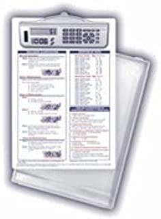 Dental Hygiene Reference Clipboard with Calculator Clip (Shown with Optional Storage Tray which must be ordered separately)