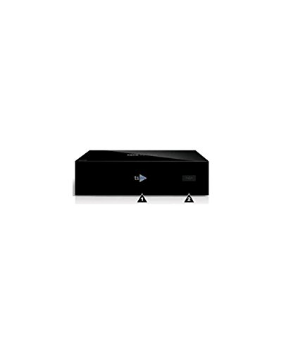 TELESYSTEM TS Play Box IP Lettore multimediale Wi-Fi, USB/DLNA, colore Nero