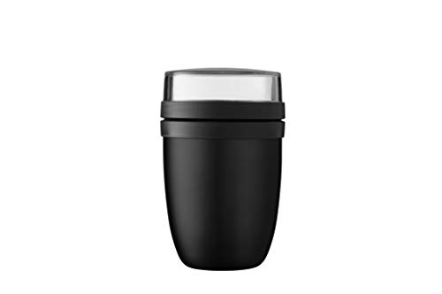 Mepal Thermo-Lunch Lunchpot Lunch Pot Ellipse Schwarz (Black Edition)