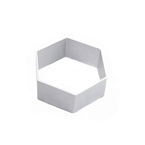 Da.Wa 1 Stück Ausstechformen Sechseck aus Metall Keksausstecher Ausstecher Plätzchen