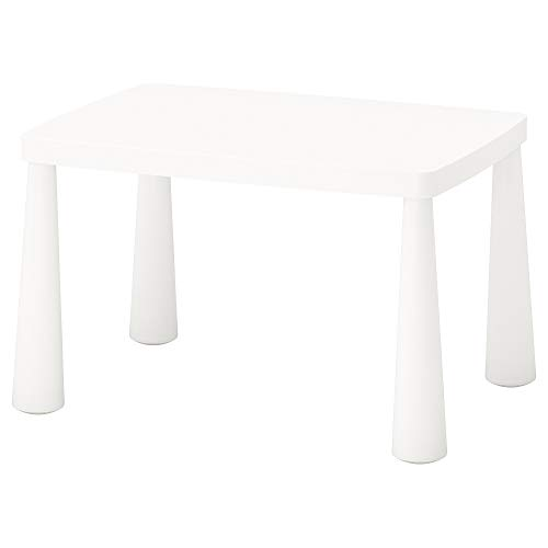 IKEA Mammut Children'S Table, Indoor/Outdoor White