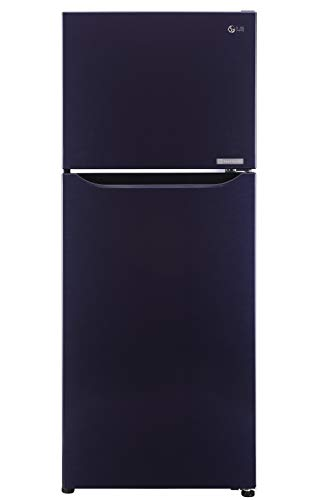 LG 260 L 2 Star Frost-Free Double-Door Refrigerator (GL-P292SCPR, Dark Purple, Smart Inverter Compressor)