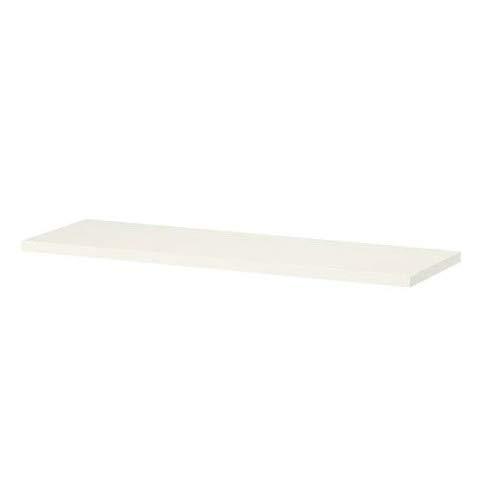 BURHULT IKEA Regal Boden in weiß; (59x20cm)
