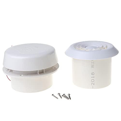 TLYA Universal 1 2V RV Ventilador de Escape de ventilación de Aire de Techo de Remolque con bajo Ruido Accesorios RV