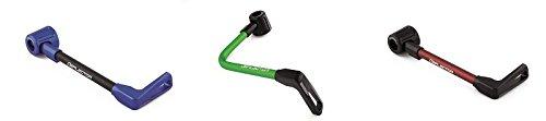 Accossato left+right handguard, aluminium hose | DE003-040-TD-16