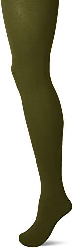 Falke Damen Cotton Touch TI Strumpfhose, grün (forest 7657), 40-42