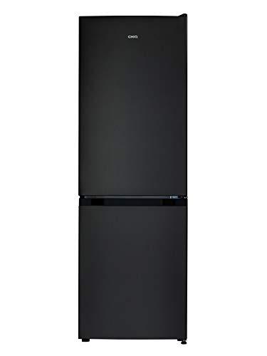 CHiQ réfrigérateur congélateur bas FBM157L42 157L (109+48), low frost, lacier inoxydable, portes réversibles, A++, 38 db, 12 ans de garantie sur le compresseur