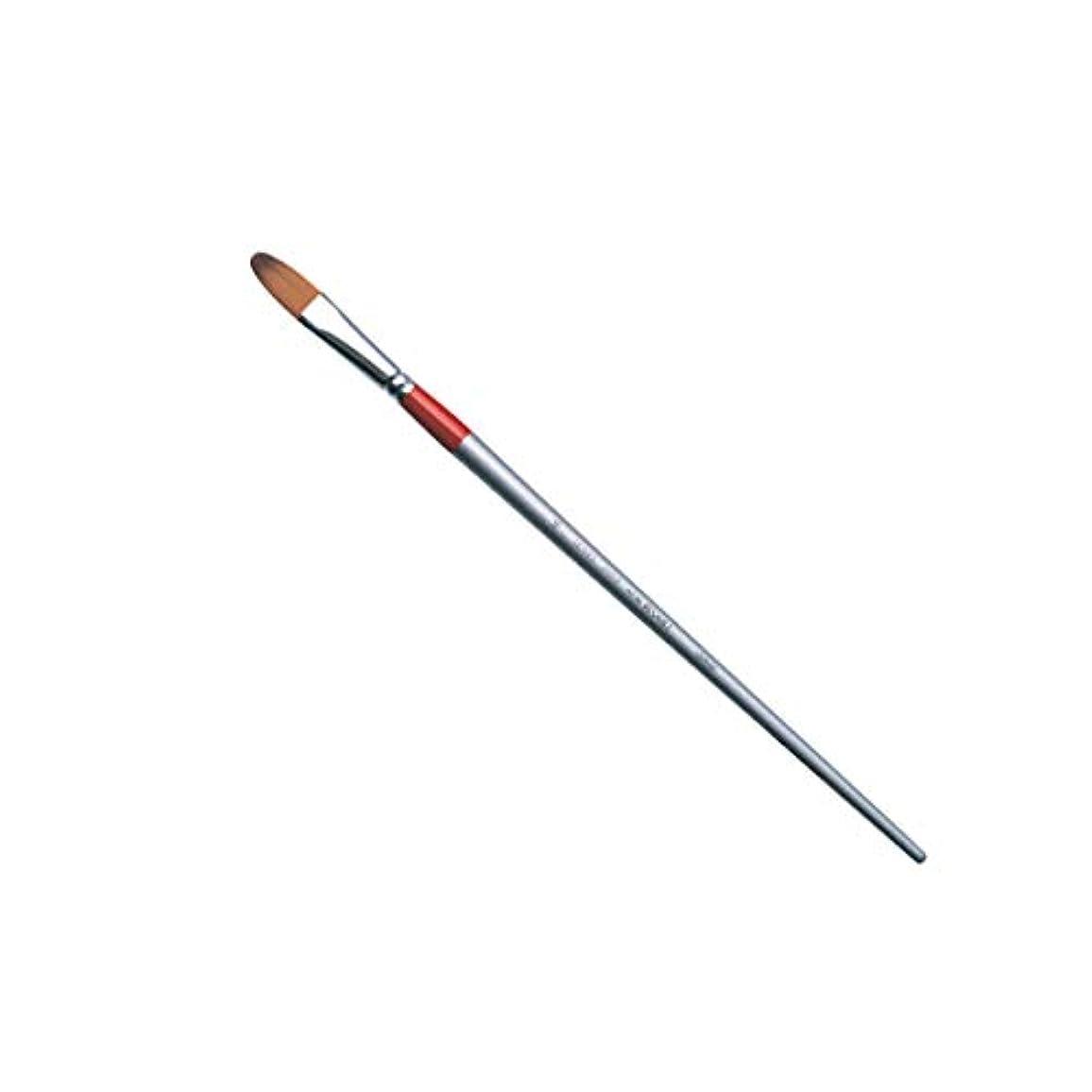 禁輸一致する可動式HOLBEIN ホルベイン 油彩筆 オイルカラー リセーブル 2100F フィルバート 平筆 2号