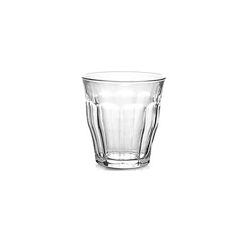 Dabeigouzbolb Glaser Glasbecher für heiße Getränke, 4 Unzen Glasbecher für Tee, Kaffee, Latte, Cappuccino, Espresso und Bier (Size : Medium)