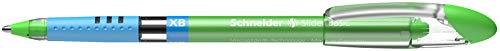 Schneider Slider Basic XB Ballpoint Pen, Light Green, Box of 10 Pens (151211) Photo #3