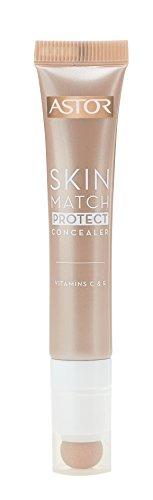 Astor Skin Match Protect Concealer, ivory, Farbe 001, 1er Pack (1 x 7 ml)