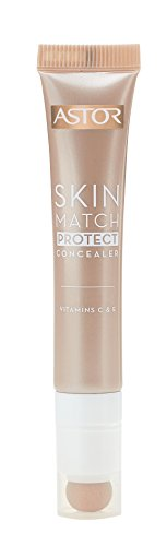 Astor Skin Match Protect Concealer, ivory, Farbe 001, 1er Pack (1 x 7 ml)