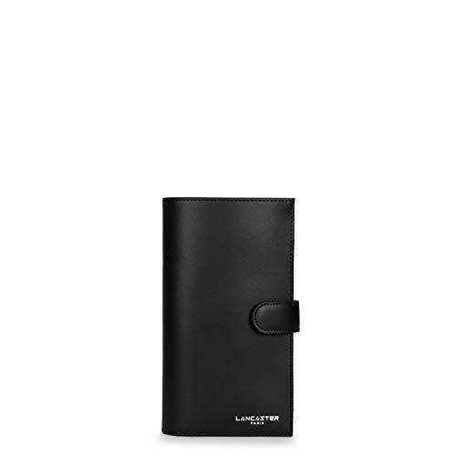LANCASTER Porte chéquier Noir