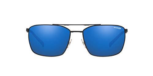 Arnette 0AN3080 Gafas de Sol, Black Rubber, 62 para Hombre