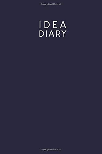 [画像:Idea diary: Dotted notebook for your ideas, sketches and mind maps | Design: Dark Blue]
