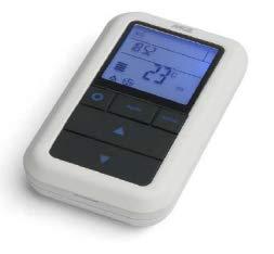 Telecomando ORIGINALE bianco MCZ cod. 41451106000 per stufe a pellet