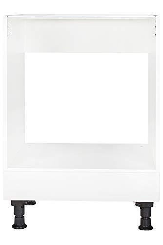 nobilia elements Küchenschrank Unterschrank für Einbau-Herd mit Blende 60 cm