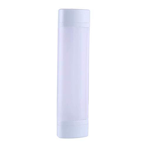 LHQ-HQ Luz LED para exteriores de 3 W, portátil, carga USB, luz blanca + luz roja y azul intermitente de advertencia LED de trabajo, lámpara de camping con cordón, soporte de banco de energía luz