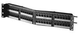 OR-PHA5E6U48 - Ortronics Clarity 5E Angled Patch Panel, Six-Port Modules, 48-Port