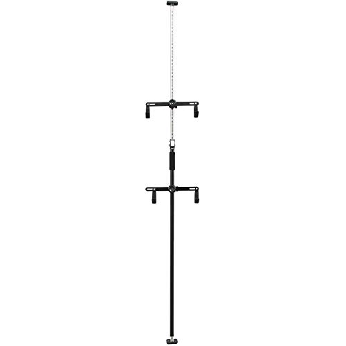 CyclingDeal 2 Bike Bicycle Vertical Hanger Parking Rack Storage Stand for Garages or Indoor...