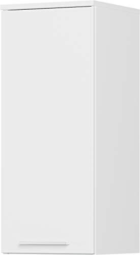 Preisvergleich Produktbild Germania Hängeschrank 8299-84 GW-ARVADA,  in weiß,  verstellbare Einlegeböden,  30x73x30 cm (BxHxT)