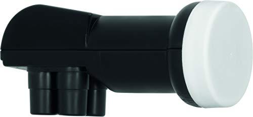 TechniSat Universal Quad-LNB, Quattro-Switch LNB für bis zu 4 Teilnehmer mit 40mm Feed-Aufnahme (Wetterschutz, UHD/4k, Full HD, 3D)