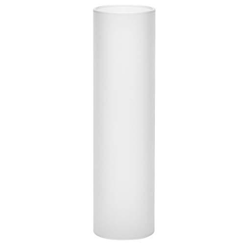 Glaszylinder mattiert, Durchmesser 40 mm, Höhe 150 mm, für Petroleumlampe Cabinlite und andere Lampen