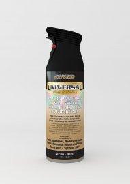 Pintura Spray Universal Rust-Oleum (Negro Satinado)