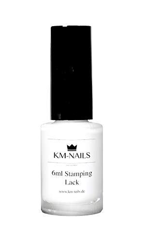 KM-Nails Stamping Lack weiß 6ml