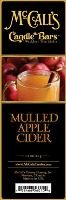 McCall's Country Candles Candle Bar 5.5 oz. - Mulled Apple Cider