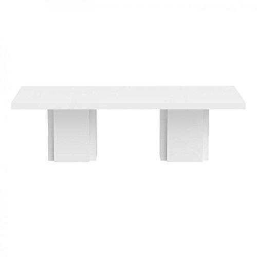 Paris Prix - Temahome - Table De Repas Dusk 262cm Blanc Laqué