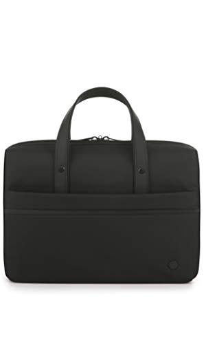 Antler Stirling Laptop Holdall Bag/Case | Messenger Bag | Work Bag | Black Laptop Bag | Smart Laptop Bag | Buisness & Laptop Bag | Office Bag for Men and Women | Lightweight | Hand Luggage